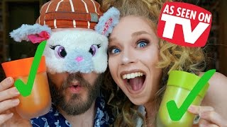 getlinkyoutube.com-CAN HE TELL THE DIFFERENCE BLINDFOLDED? DOES THIS THING REALLY WORK? RE-TEST- THE RIGHT CUP!