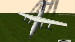 getlinkyoutube.com-Rigs of Rods: Violent Air Crashes