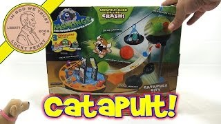 getlinkyoutube.com-Crashlings Catapult City Playset Meteor Mutants From Outer Space
