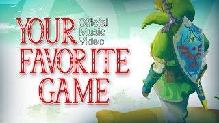 "getlinkyoutube.com-♫ ""Favorite Game"" - A Legend of Zelda Parody of Daniel Powter's Bad Day (Music Video)"