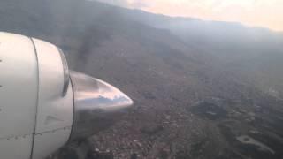getlinkyoutube.com-Panorámica de Medellín: Aterrizaje / Landing en Olaya Herrera EOH en Jetstream 32 de ADA