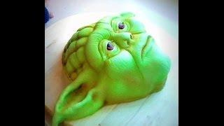 getlinkyoutube.com-Master YODA Cake Tutorial!! (STAR WARS Cake)