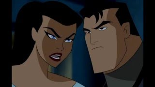 getlinkyoutube.com-Beso entre Mujer Maravilla y Batman AUDIO LATINO