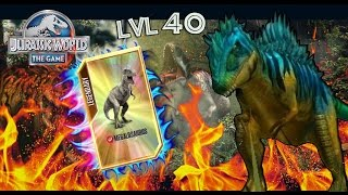 getlinkyoutube.com-MEGALOSAURUS LVL 40! -Jurassic World The Game