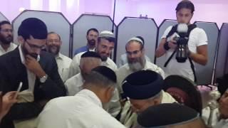 getlinkyoutube.com-מרן הרב שלמה משה עמאר בברית - מוהל הרב איל מלמד