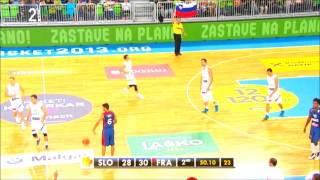 getlinkyoutube.com-Goran Dragic Full Highlights 31.8.2013 Slovenia vs France