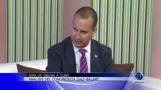 El congresista Mario Díaz Balart opina de la visita del presidente Obama a Cuba
