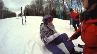 "getlinkyoutube.com-""Broken Wrist"" Taylor Mae'd Snowboard"
