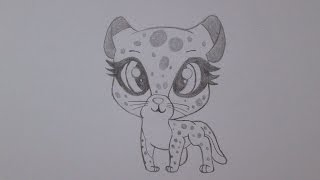 getlinkyoutube.com-How to draw a cheetah