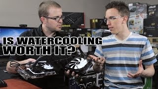 getlinkyoutube.com-Is Water Cooling Your GPU Worth It? (With Austin Evans!)
