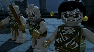 getlinkyoutube.com-LEGO The Hobbit - Overworld Guide #14 - Weathertop (Mithril Bricks & Characters)