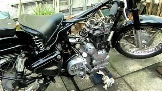getlinkyoutube.com-Engine Reassembly barrel & Head Royal Enfield Bullet 350 Classic