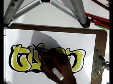 Vídeo Aula com Gene do Grafite 064 - Bomber Graffiti, ou Bomb Spray