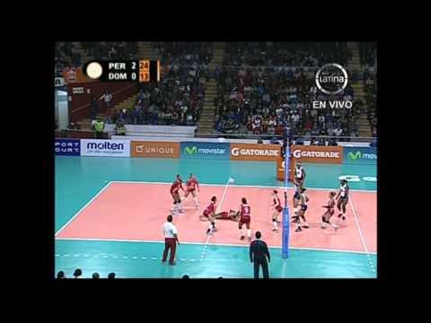 Perú vs República Dominicana - Voley Final Four sub 20