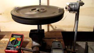 Heavy Flywheel Pulse Motor