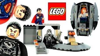 getlinkyoutube.com-LEGO® Superman™: Black Zero Escape 76009 DC Universe Super Heroes w/ Lois Lane & General Zod