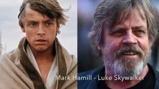 Star Wars Characters: Then And Now