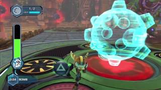 getlinkyoutube.com-Ratchet & Clank: Full Frontal Assault / QForce Walkthrough - Ending - Part 13 HD