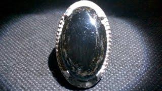getlinkyoutube.com-Keunikan Batu Bulu Macan (Basaltic Tiger Glass) Serat Emas !! -[onthespotnews]