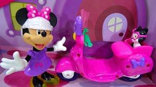 getlinkyoutube.com-Minnie Mouse Paseo en moto Minnie's Fashion Ride - Juguetes de Minnie