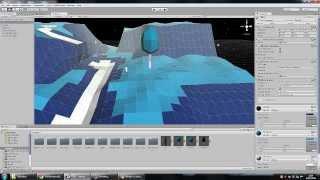 getlinkyoutube.com-Unity + Blender - Low Poly - Map Making