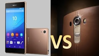getlinkyoutube.com-LG G4 vs SONY XPERIA Z3+\Z4