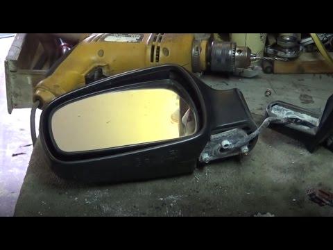 Проблемный ремонт зеркала заднего вида