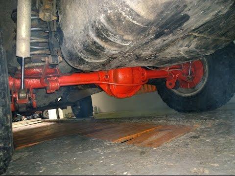 Тест Нового моста Jeep Grand Cherokee 4,7 V8