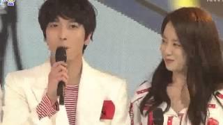 getlinkyoutube.com-150125 Inkigayo 800th Special MC Cut [1080P]