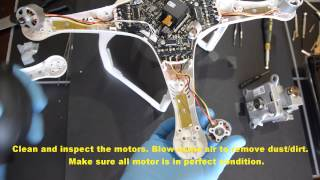 getlinkyoutube.com-DJI Phantom 3 Pro/Adv - Replacing the Shell - Part 5/6