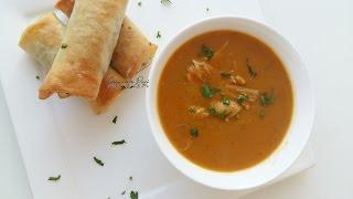 getlinkyoutube.com-شوربة بالدجاج والخضر رائعة | Soupe délicieuse au poulet et aux légumes