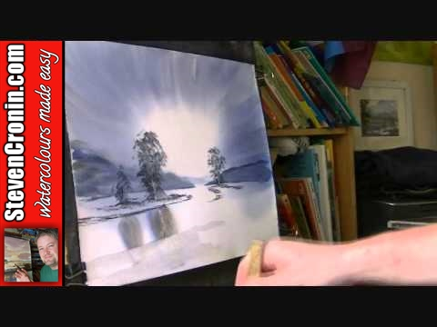 Loch Goil Watercolour Painting Lesson Part 2