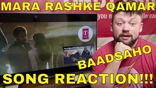'MARA RASHKE QAMAR' - Baadsaho - SONG REACTION!!!