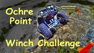 getlinkyoutube.com-RC Scale 4wd Hilux Comp Truck Winch Challenge