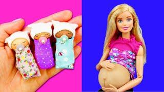 getlinkyoutube.com-DIY miniature Baby | DIY Miniature doll baby pacifier | DIY Miniature doll baby Crib 미니어쳐 아기