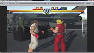 getlinkyoutube.com-Creating a Street Fighter game with Unity - 01 Importing models and animations