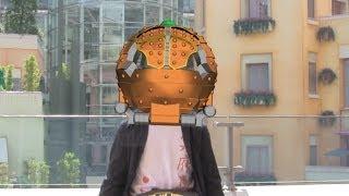 getlinkyoutube.com-【鎧武】プヲタが平成全15仮面ライダーに変身してみた【クウガ】