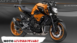 getlinkyoutube.com-Yamaha MT 10 in Valentino Rossi Livery and More from AD Koncept