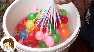 getlinkyoutube.com-จาน่า ไจโร ชวนเดอะแกงค์มาเล่นลูกโป่งน้ำ (Water Balloon)  | จาน่าน้อย