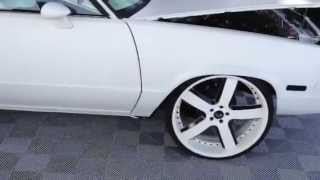 Swift white elcamino on forgiatos 24s by 12 with 8 inch lip