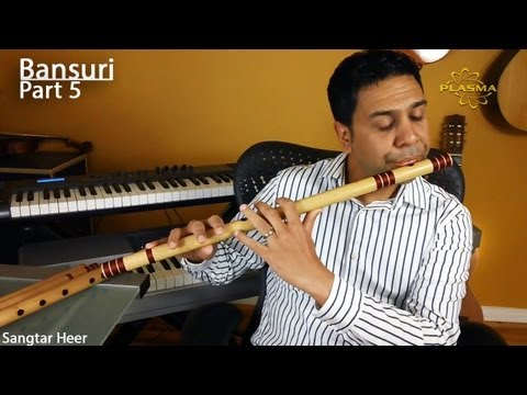 Learn to Play Bansuri - Part 5 - Playing Scales with Key Change - Practical