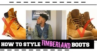getlinkyoutube.com-How to Style Timberland Boots   On Foot   Review