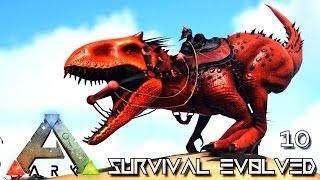 ARK: SURVIVAL EVOLVED - NEW INDOMINUS REX PRIMEVAL TAMING !!! E10 (MODDED ARK PUGNACIA DINOS)