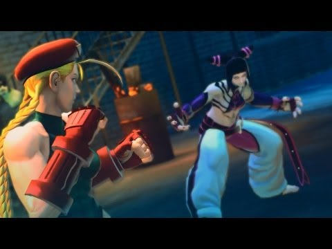 Super Street Fighter 4 AE PC Ver. 2012 All Rival Cutscenes 1/2