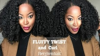 getlinkyoutube.com-SLAY YOur Upart wig: Fluffy Flat twist and curl  HERGIVENHAIR