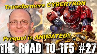 getlinkyoutube.com-Transformers Cybertron Prequel to be ANIMATED - [THE ROAD TO TF5 #27]