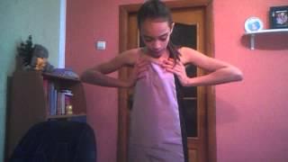 getlinkyoutube.com-Покажу вам мои модельерские способности))))Как я сшила себе платье)))