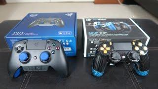 getlinkyoutube.com-RAZER RAIJU VS SCUF INFINITY! PS4 Controller Review