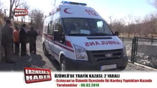 Üzümlü'de Çocukların Araba Gezintisi Hastanede Son Buldu