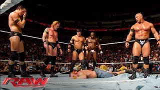 getlinkyoutube.com-The Nexus interrupt the main event and reap destruction: Raw, June 7, 2010